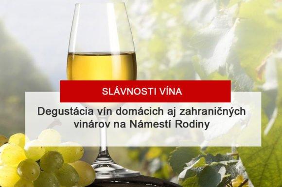 Slávnosti vína 2019