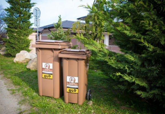 Odvoz BIO odpadu z hnedých nádob