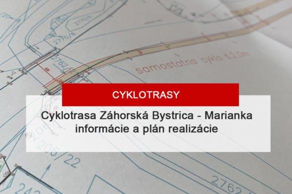 Cyklotrasa Záhorská Bystrica – Marianka