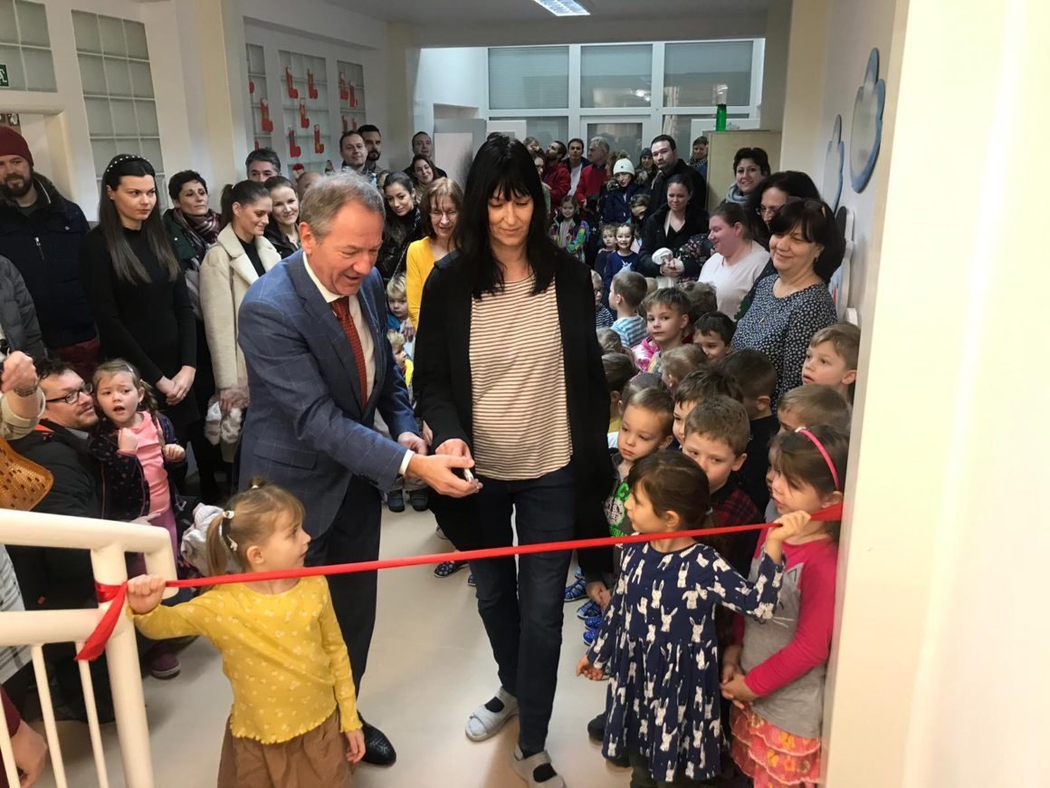 Nová materská škola v Záhorskej Bystrici v plnej prevádzke