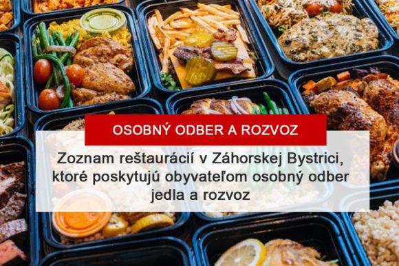 Reštauračné služby počas mimoriadnej situácie